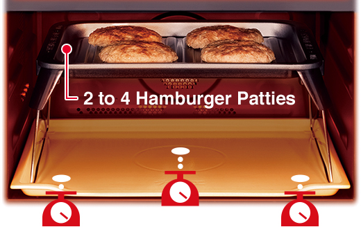 2 to 4 Hamburger Patties