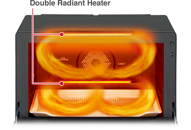 Double Radiant Heater