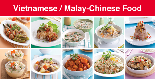 Vietnamese / Malay-Chinese Food