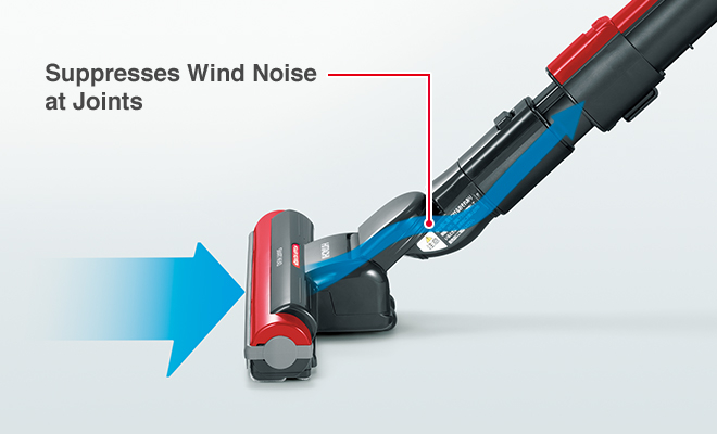 Suppresses Wind Noise at Joints