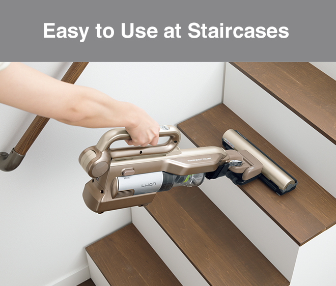 Easy to Use at Staircases
